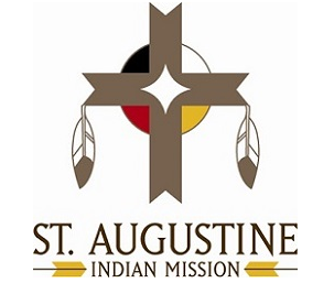 St. Augustine Indian Mission Card Image